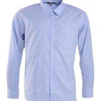 Blå herrskjorta